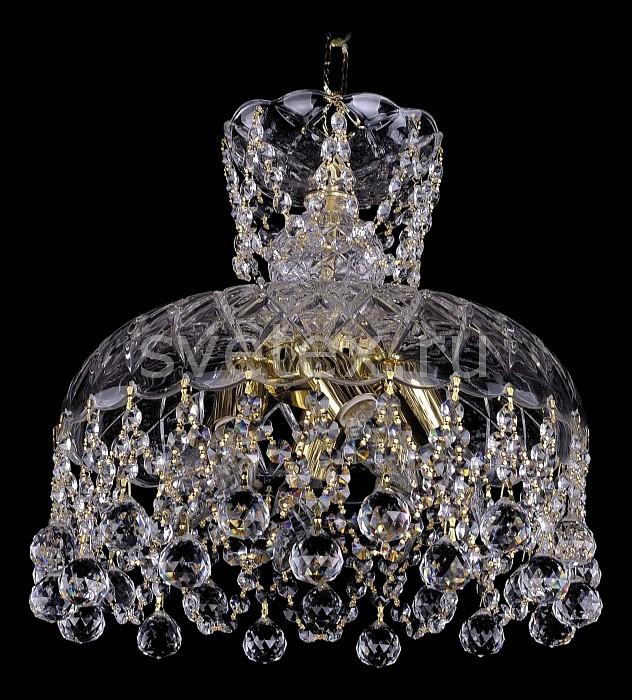 Фото Подвесной светильник Bohemia Ivele Crystal 7711 7711/35/G/Balls
