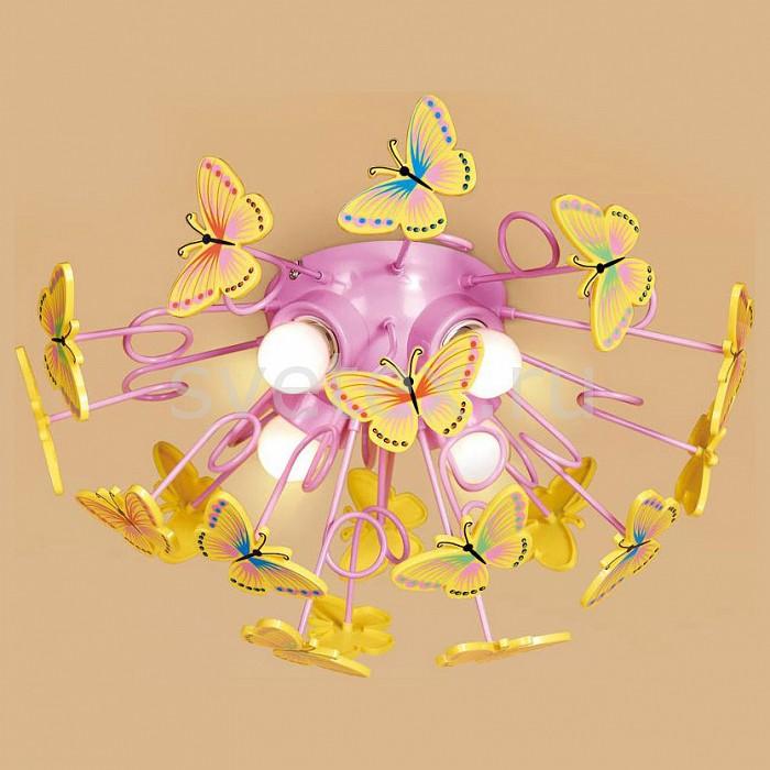 Потолочная люстра CitiluxПолимерные плафоны<br>Артикул - CL603142,Бренд - Citilux (Дания),Коллекция - Бабочки,Гарантия, месяцы - 24,Время изготовления, дней - 1,Высота, мм - 240,Диаметр, мм - 500,Тип лампы - компактная люминесцентная [КЛЛ] ИЛИнакаливания ИЛИсветодиодная [LED],Общее кол-во ламп - 4,Напряжение питания лампы, В - 220,Максимальная мощность лампы, Вт - 75,Лампы в комплекте - отсутствуют,Цвет плафонов и подвесок - желтый, красный, синий,Тип поверхности плафонов - матовый,Материал плафонов и подвесок - полимер,Цвет арматуры - розовый,Тип поверхности арматуры - глянцевый,Материал арматуры - металл,Возможность подлючения диммера - можно, если установить лампу накаливания,Тип цоколя лампы - E27,Класс электробезопасности - I,Общая мощность, Вт - 300,Степень пылевлагозащиты, IP - 20,Диапазон рабочих температур - комнатная температура<br>