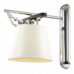 Бра Odeon LightТекстильный плафон<br>Артикул - OD_2931_1W,Бренд - Odeon Light (Италия),Коллекция - Salanso,Гарантия, месяцы - 24,Высота, мм - 260,Тип лампы - компактная люминесцентная [КЛЛ] ИЛИнакаливания ИЛИсветодиодная [LED],Общее кол-во ламп - 1,Напряжение питания лампы, В - 220,Максимальная мощность лампы, Вт - 40,Лампы в комплекте - отсутствуют,Цвет плафонов и подвесок - белый, неокрашенный,Тип поверхности плафонов - матовый, прозрачный,Материал плафонов и подвесок - текстиль, хрусталь,Цвет арматуры - коричневый, хром,Тип поверхности арматуры - глянцевый, матовый,Материал арматуры - дерево, металл,Возможность подлючения диммера - можно, если установить лампу накаливания,Тип цоколя лампы - E27,Класс электробезопасности - I,Степень пылевлагозащиты, IP - 20,Диапазон рабочих температур - комнатная температура,Дополнительные параметры - способ крепления светильника на стене – на монтажной пластине, светильник предназначен для использования со скрытой проводкой<br>