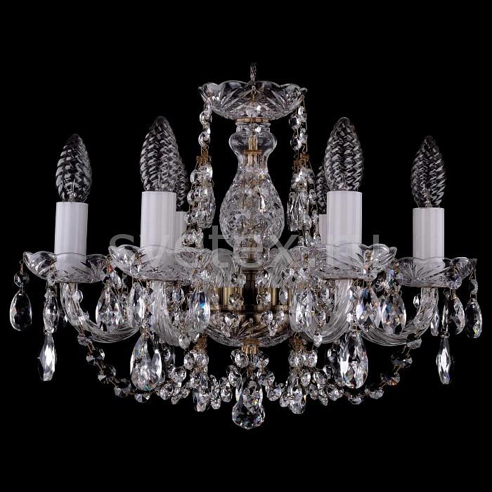 Фото Подвесная люстра Bohemia Ivele Crystal 1406 1406/6/141/Pa
