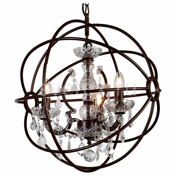 Подвесная люстра FavouriteНе более 4 ламп<br>Артикул - FV_1834-3P,Бренд - Favourite (Германия),Коллекция - Orbit,Гарантия, месяцы - 24,Высота, мм - 540-1540,Диаметр, мм - 520,Тип лампы - компактная люминесцентная [КЛЛ] ИЛИнакаливания ИЛИсветодиодная [LED],Общее кол-во ламп - 3,Напряжение питания лампы, В - 220,Максимальная мощность лампы, Вт - 40,Лампы в комплекте - отсутствуют,Цвет плафонов и подвесок - неокрашенный,Тип поверхности плафонов - прозрачный,Материал плафонов и подвесок - хрусталь,Цвет арматуры - неокрашенный, темно-коричневый,Тип поверхности арматуры - матовый, прозрачный,Материал арматуры - металл, стекло,Возможность подлючения диммера - можно, если установить лампу накаливания,Тип цоколя лампы - E14,Класс электробезопасности - I,Общая мощность, Вт - 120,Степень пылевлагозащиты, IP - 20,Диапазон рабочих температур - комнатная температура,Дополнительные параметры - регулируется по высоте,  способ крепления светильника к потолку – на крюке<br>
