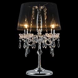Настольная лампа StrotskisНастольные лампы<br>Артикул - EV_5550,Бренд - Strotskis (Китай),Коллекция - 2045,Гарантия, месяцы - 24,Высота, мм - 480,Диаметр, мм - 300,Тип лампы - компактная люминесцентная [КЛЛ] ИЛИнакаливания ИЛИсветодиодная [LED],Общее кол-во ламп - 3,Напряжение питания лампы, В - 220,Максимальная мощность лампы, Вт - 60,Лампы в комплекте - отсутствуют,Цвет плафонов и подвесок - неокрашенный, черный,Тип поверхности плафонов - прозрачный,Материал плафонов и подвесок - нить, хрусталь,Цвет арматуры - хром, неокрашенный,Тип поверхности арматуры - глянцевый,Материал арматуры - металл, хрусталь,Тип цоколя лампы - E14,Класс электробезопасности - II,Общая мощность, Вт - 180,Степень пылевлагозащиты, IP - 20,Диапазон рабочих температур - комнатная температура,Дополнительные параметры - провод электропитания с вилкой без заземления<br>