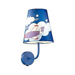 Бра Odeon LightТекстильный плафон<br>Артикул - OD_2440_1W,Бренд - Odeon Light (Италия),Гарантия, месяцы - 24,Высота, мм - 310,Тип лампы - компактная люминесцентная [КЛЛ] ИЛИнакаливания ИЛИсветодиодная [LED],Общее кол-во ламп - 1,Напряжение питания лампы, В - 220,Максимальная мощность лампы, Вт - 60,Лампы в комплекте - отсутствуют,Цвет плафонов и подвесок - синий с рисунком,Тип поверхности плафонов - матовый,Материал плафонов и подвесок - текстиль,Цвет арматуры - синий,Тип поверхности арматуры - матовый,Материал арматуры - металл,Возможность подлючения диммера - можно, если установить лампу накаливания,Тип цоколя лампы - E27,Класс электробезопасности - I,Степень пылевлагозащиты, IP - 20,Диапазон рабочих температур - комнатная температура,Дополнительные параметры - светильник предназначен для использования со скрытой проводкой<br>