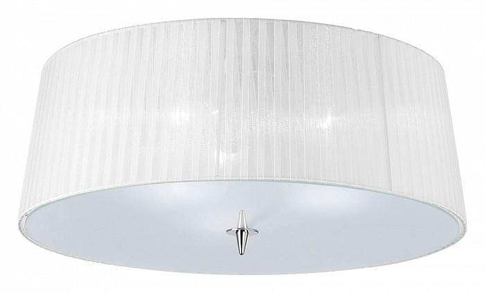 Накладной светильник MantraКруглые<br>Артикул - MN_4640,Бренд - Mantra (Испания),Коллекция - Loewe,Гарантия, месяцы - 24,Время изготовления, дней - 1,Диаметр, мм - 550,Тип лампы - компактная люминесцентная [КЛЛ] ИЛИсветодиодная [LED],Общее кол-во ламп - 3,Напряжение питания лампы, В - 220,Максимальная мощность лампы, Вт - 13,Лампы в комплекте - отсутствуют,Цвет плафонов и подвесок - белый,Тип поверхности плафонов - матовый,Материал плафонов и подвесок - органза, стекло,Цвет арматуры - неокрашенный, хром,Тип поверхности арматуры - глянцевый, прозрачный,Материал арматуры - металл, стекло,Количество плафонов - 1,Возможность подлючения диммера - нельзя,Тип цоколя лампы - E14,Класс электробезопасности - I,Общая мощность, Вт - 69,Степень пылевлагозащиты, IP - 20,Диапазон рабочих температур - комнатная температура<br>