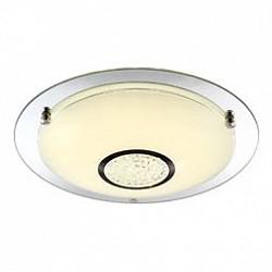 Накладной светильник GloboКруглые<br>Артикул - GB_48241,Бренд - Globo (Австрия),Коллекция - Amada,Гарантия, месяцы - 24,Высота, мм - 105,Диаметр, мм - 415,Тип лампы - светодиодная [LED],Общее кол-во ламп - 1,Напряжение питания лампы, В - 29.7,Максимальная мощность лампы, Вт - 18,Лампы в комплекте - светодиодная [LED],Цвет плафонов и подвесок - белый, неокрашенный,Тип поверхности плафонов - матовый, прозрачный,Материал плафонов и подвесок - стекло, хрусталь K5,Цвет арматуры - неокрашенный, хром,Тип поверхности арматуры - глянцевый,Материал арматуры - металл,Количество плафонов - 1,Возможность подлючения диммера - нельзя,Класс электробезопасности - I,Степень пылевлагозащиты, IP - 20,Диапазон рабочих температур - комнатная температура<br>