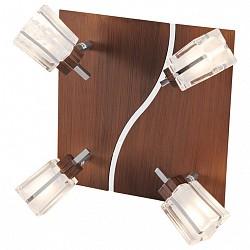 Спот De MarktС 4 лампами<br>Артикул - MW_518021004,Бренд - De Markt (Германия),Коллекция - Лайн,Гарантия, месяцы - 24,Тип лампы - галогеновая ИЛИсветодиодная [LED],Общее кол-во ламп - 4,Напряжение питания лампы, В - 220,Максимальная мощность лампы, Вт - 50,Лампы в комплекте - отсутствуют,Цвет плафонов и подвесок - неокрашенный,Тип поверхности плафонов - матовый, прозрачный,Материал плафонов и подвесок - стекло,Цвет арматуры - коричневый, хром,Тип поверхности арматуры - глянцевый, матовый,Материал арматуры - металл,Возможность подлючения диммера - можно,Форма и тип колбы - пальчиковая,Тип цоколя лампы - G9,Класс электробезопасности - I,Степень пылевлагозащиты, IP - 20,Диапазон рабочих температур - комнатная температура,Дополнительные параметры - поворотный светильник<br>