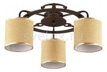 Потолочная люстра FreyaСветильники<br>Артикул - MY_FR100-03-R,Бренд - Freya (Германия),Коллекция - Timone,Гарантия, месяцы - 24,Высота, мм - 200,Диаметр, мм - 500,Тип лампы - компактная люминесцентная [КЛЛ] ИЛИнакаливания ИЛИсветодиодная  [LED],Общее кол-во ламп - 3,Напряжение питания лампы, В - 220,Максимальная мощность лампы, Вт - 40,Лампы в комплекте - отсутствуют,Цвет плафонов и подвесок - желтый с каймой,Тип поверхности плафонов - матовый,Материал плафонов и подвесок - рогожка,Цвет арматуры - коричневый,Тип поверхности арматуры - матовый,Материал арматуры - металл,Количество плафонов - 3,Возможность подлючения диммера - можно, если установить лампу накаливания,Тип цоколя лампы - E14,Класс электробезопасности - I,Общая мощность, Вт - 120,Степень пылевлагозащиты, IP - 20,Диапазон рабочих температур - комнатная температура,Дополнительные параметры - способ крепления светильника к потолку - на монтажной пластине<br>