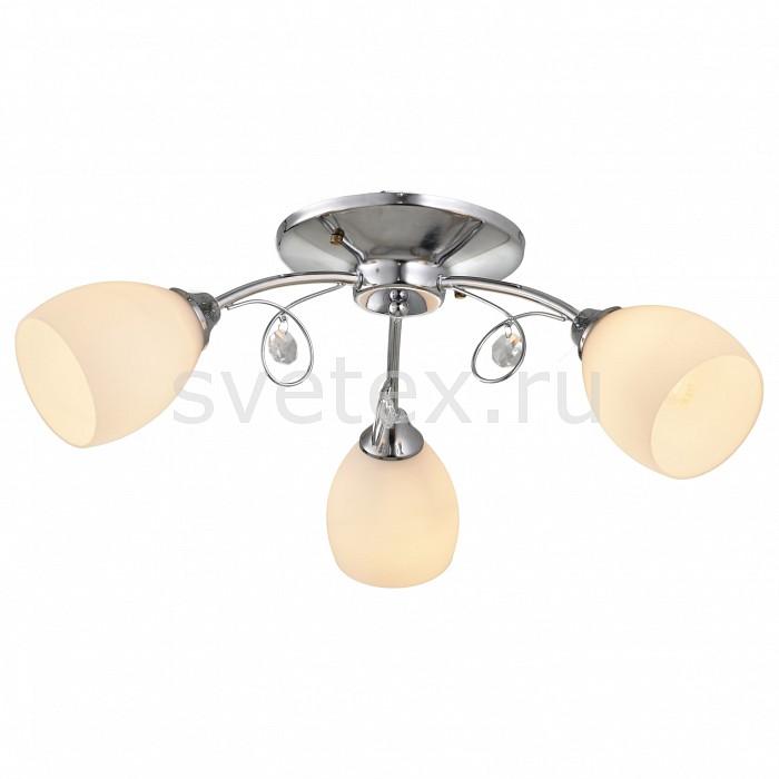 Потолочная люстра ToscomЛюстры<br>Артикул - TO_TC-994-603,Бренд - Toscom (Китай),Коллекция - Mindy,Гарантия, месяцы - 24,Высота, мм - 190,Диаметр, мм - 610,Размер упаковки, мм - 325x270x150,Тип лампы - компактная люминесцентная [КЛЛ] ИЛИнакаливания ИЛИсветодиодная [LED],Общее кол-во ламп - 3,Напряжение питания лампы, В - 220,Максимальная мощность лампы, Вт - 40,Лампы в комплекте - отсутствуют,Цвет плафонов и подвесок - белый, неокрашенный,Тип поверхности плафонов - матовый, прозрачный,Материал плафонов и подвесок - стекло, хрусталь,Цвет арматуры - хром,Тип поверхности арматуры - глянцевый,Материал арматуры - металл,Количество плафонов - 3,Возможность подлючения диммера - можно, если установить лампу накаливания,Тип цоколя лампы - E14,Класс электробезопасности - I,Общая мощность, Вт - 120,Степень пылевлагозащиты, IP - 20,Диапазон рабочих температур - комнатная температура,Дополнительные параметры - способ крепления светильника к потолку - на монтажной пластине<br>