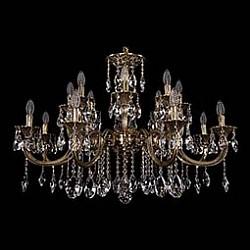 Подвесная люстра Bohemia Ivele CrystalБолее 6 ламп<br>Артикул - BI_1702_8_8_335_150_A_GB,Бренд - Bohemia Ivele Crystal (Чехия),Коллекция - 1702,Гарантия, месяцы - 24,Высота, мм - 640,Диаметр, мм - 980,Размер упаковки, мм - 710x710x350,Тип лампы - компактная люминесцентная [КЛЛ] ИЛИнакаливания ИЛИсветодиодная [LED],Общее кол-во ламп - 16,Напряжение питания лампы, В - 220,Максимальная мощность лампы, Вт - 40,Лампы в комплекте - отсутствуют,Цвет плафонов и подвесок - неокрашенный,Тип поверхности плафонов - прозрачный,Материал плафонов и подвесок - хрусталь,Цвет арматуры - золото черненое,Тип поверхности арматуры - глянцевый, рельефный,Материал арматуры - латунь,Возможность подлючения диммера - можно, если установить лампу накаливания,Форма и тип колбы - свеча ИЛИ свеча на ветру,Тип цоколя лампы - E14,Класс электробезопасности - I,Общая мощность, Вт - 640,Степень пылевлагозащиты, IP - 20,Диапазон рабочих температур - комнатная температура,Дополнительные параметры - способ крепления светильника к потолку - на крюке, указана высота светильника без подвеса<br>