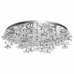 Потолочная люстра RegenBogen LIFEСветодиодные<br>Артикул - MW_615010224,Бренд - RegenBogen LIFE (Германия),Коллекция - Розенхейм,Гарантия, месяцы - 24,Высота, мм - 220,Диаметр, мм - 860,Тип лампы - светодиодная [LED],Общее кол-во ламп - 24,Максимальная мощность лампы, Вт - 3,Лампы в комплекте - светодиодные [LED],Цвет плафонов и подвесок - неокрашенный,Тип поверхности плафонов - прозрачный,Материал плафонов и подвесок - хрусталь,Цвет арматуры - хром,Тип поверхности арматуры - глянцевый,Материал арматуры - металл,Класс электробезопасности - I,Общая мощность, Вт - 72,Степень пылевлагозащиты, IP - 20,Диапазон рабочих температур - комнатная температура,Дополнительные параметры - способ крепления светильника к потолоку - на монтажной пластине<br>