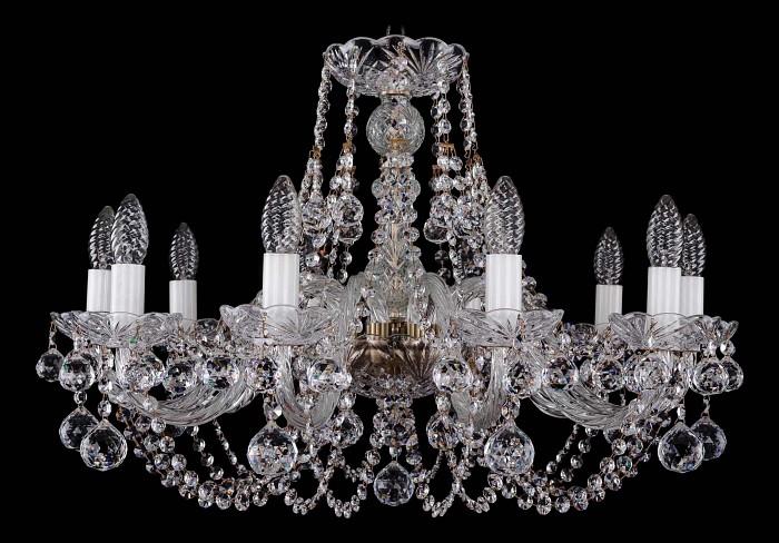 Фото Подвесная люстра Bohemia Ivele Crystal 1406 1406/10/240/Pa/Balls