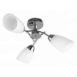 Люстра на штанге TopLightНе более 4 ламп<br>Артикул - TPL_TL3600X-03CH,Бренд - TopLight (Россия),Коллекция - Carmel,Гарантия, месяцы - 24,Высота, мм - 180,Диаметр, мм - 630,Размер упаковки, мм - 220x210x390,Тип лампы - компактная люминесцентная [КЛЛ] ИЛИнакаливания ИЛИсветодиодная [LED],Общее кол-во ламп - 3,Напряжение питания лампы, В - 220,Максимальная мощность лампы, Вт - 40,Лампы в комплекте - отсутствуют,Цвет плафонов и подвесок - белый,Тип поверхности плафонов - матовый,Материал плафонов и подвесок - стекло,Цвет арматуры - хром,Тип поверхности арматуры - глянцевый,Материал арматуры - металл,Возможность подлючения диммера - можно, если установить лампу накаливания,Тип цоколя лампы - E27,Класс электробезопасности - I,Общая мощность, Вт - 120,Степень пылевлагозащиты, IP - 20,Диапазон рабочих температур - комнатная температура,Дополнительные параметры - способ крепления светильника к потолку - на монтажной пластине<br>