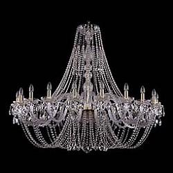 Подвесная люстра Bohemia Ivele CrystalБолее 6 ламп<br>Артикул - BI_1406_20_530_125_G,Бренд - Bohemia Ivele Crystal (Чехия),Коллекция - 1406,Гарантия, месяцы - 24,Высота, мм - 1250,Диаметр, мм - 1460,Размер упаковки, мм - 710x710x350,Тип лампы - компактная люминесцентная [КЛЛ] ИЛИнакаливания ИЛИсветодиодная [LED],Общее кол-во ламп - 20,Напряжение питания лампы, В - 220,Максимальная мощность лампы, Вт - 40,Лампы в комплекте - отсутствуют,Цвет плафонов и подвесок - неокрашенный,Тип поверхности плафонов - прозрачный,Материал плафонов и подвесок - хрусталь,Цвет арматуры - золото, неокрашенный,Тип поверхности арматуры - глянцевый, прозрачный, рельефный,Материал арматуры - металл, стекло,Возможность подлючения диммера - можно, если установить лампу накаливания,Форма и тип колбы - свеча ИЛИ свеча на ветру,Тип цоколя лампы - E14,Класс электробезопасности - I,Общая мощность, Вт - 800,Степень пылевлагозащиты, IP - 20,Диапазон рабочих температур - комнатная температура,Дополнительные параметры - способ крепления светильника к потолку - на крюке, указана высота светильника без подвеса<br>