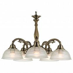 Подвесная люстра Globo5 или 6 ламп<br>Артикул - GB_60207-5,Бренд - Globo (Австрия),Коллекция - Horus,Гарантия, месяцы - 24,Высота, мм - 1200,Диаметр, мм - 560,Размер упаковки, мм - 475x475x230,Тип лампы - компактная люминесцентная [КЛЛ] ИЛИнакаливания ИЛИсветодиодная [LED],Общее кол-во ламп - 5,Напряжение питания лампы, В - 220,Максимальная мощность лампы, Вт - 60,Лампы в комплекте - отсутствуют,Цвет плафонов и подвесок - белый с рисунком,Тип поверхности плафонов - матовый,Материал плафонов и подвесок - стекло,Цвет арматуры - бронза античная,Тип поверхности арматуры - глянцевый, рельефный,Материал арматуры - металл,Возможность подлючения диммера - можно, если установить лампу накаливания,Тип цоколя лампы - E27,Класс электробезопасности - I,Общая мощность, Вт - 300,Степень пылевлагозащиты, IP - 20,Диапазон рабочих температур - комнатная температура,Дополнительные параметры - способ крепления светильника к потолку - на крюке<br>