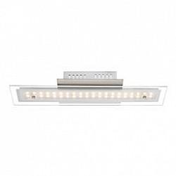 Накладной светильник GloboСветодиодные<br>Артикул - GB_67804-8D,Бренд - Globo (Австрия),Коллекция - Liguria,Гарантия, месяцы - 24,Размер упаковки, мм - 440x140x100,Тип лампы - светодиодная [LED],Общее кол-во ламп - 1,Напряжение питания лампы, В - 27.2,Максимальная мощность лампы, Вт - 8,Лампы в комплекте - светодиодная [LED],Цвет плафонов и подвесок - белый, неокрашенный,Тип поверхности плафонов - прозрачный, матовый,Материал плафонов и подвесок - стекло,Цвет арматуры - хром,Тип поверхности арматуры - глянцевый,Материал арматуры - металл,Возможность подлючения диммера - нельзя,Класс электробезопасности - I,Степень пылевлагозащиты, IP - 20,Диапазон рабочих температур - комнатная температура,Дополнительные параметры - способ крепления светильника к потолку и стене - на монтажной пластине<br>