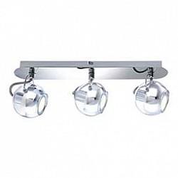 Спот GloboС 3 лампами<br>Артикул - GB_57880-3,Бренд - Globo (Австрия),Коллекция - Aramid,Гарантия, месяцы - 24,Время изготовления, дней - 1,Диаметр, мм - 70,Размер упаковки, мм - 820x130x210,Тип лампы - светодиодная [LED],Общее кол-во ламп - 3,Напряжение питания лампы, В - 220,Максимальная мощность лампы, Вт - 3.5,Лампы в комплекте - светодиодные [LED] GU10,Цвет плафонов и подвесок - неокрашенный, хром,Тип поверхности плафонов - глянцевый, прозрачный,Материал плафонов и подвесок - металл, стекло,Цвет арматуры - хром,Тип поверхности арматуры - глянцевый,Материал арматуры - металл,Возможность подлючения диммера - нельзя,Форма и тип колбы - полусферическая с рефлектором,Тип цоколя лампы - GU10,Класс электробезопасности - I,Общая мощность, Вт - 10,Степень пылевлагозащиты, IP - 20,Диапазон рабочих температур - комнатная температура,Дополнительные параметры - поворотный светильник, диаметр плафона 90 мм<br>