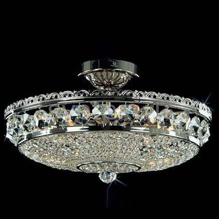 Люстра на штанге Preciosa5 или 6 ламп<br>Артикул - PR_45052400604000701,Бренд - Preciosa (Чехия),Коллекция - Brilliant,Гарантия, месяцы - 24,Время изготовления, дней - 1,Высота, мм - 280,Диаметр, мм - 425,Тип лампы - компактная люминесцентная [КЛЛ] ИЛИнакаливания ИЛИсветодиодная [LED],Общее кол-во ламп - 6,Напряжение питания лампы, В - 220,Максимальная мощность лампы, Вт - 40,Лампы в комплекте - отсутствуют,Цвет плафонов и подвесок - неокрашенный,Тип поверхности плафонов - прозрачный,Материал плафонов и подвесок - хрусталь Standard,Цвет арматуры - никель,Тип поверхности арматуры - глянцевый, рельефный,Материал арматуры - металл,Возможность подлючения диммера - можно, если установить лампу накаливания,Тип цоколя лампы - E14,Класс электробезопасности - I,Общая мощность, Вт - 240,Степень пылевлагозащиты, IP - 20,Диапазон рабочих температур - комнатная температура<br>