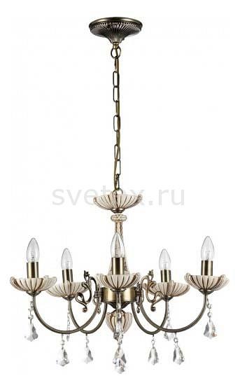 Подвесная люстра Freya5 или 6 ламп<br>Артикул - MY_FR0014-05-R,Бренд - Freya (Германия),Коллекция - Shell,Гарантия, месяцы - 24,Высота, мм - 400-1000,Диаметр, мм - 720,Тип лампы - компактная люминесцентная [КЛЛ] ИЛИнакаливания ИЛИсветодиодная  [LED],Общее кол-во ламп - 5,Напряжение питания лампы, В - 220,Максимальная мощность лампы, Вт - 60,Лампы в комплекте - отсутствуют,Цвет плафонов и подвесок - неокрашенный,Тип поверхности плафонов - прозрачный,Материал плафонов и подвесок - хрусталь,Цвет арматуры - бежевый, бронза,Тип поверхности арматуры - матовый,Материал арматуры - металл,Возможность подлючения диммера - можно, если установить лампу накаливания,Форма и тип колбы - свеча ИЛИ свеча на ветру,Тип цоколя лампы - E14,Класс электробезопасности - I,Общая мощность, Вт - 300,Степень пылевлагозащиты, IP - 20,Диапазон рабочих температур - комнатная температура,Дополнительные параметры - способ крепления светильника к потолку - на монтажной пластине, регулируется по высоте<br>