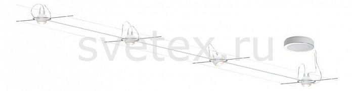 Комплект PaulmannСтрунные светильники<br>Артикул - PA_94098,Бренд - Paulmann (Германия),Коллекция - Set Ball,Гарантия, месяцы - 24,Длина, мм - 7000,Ширина, мм - 160-180,Тип лампы - светодиодная [LED],Общее кол-во ламп - 4,Напряжение питания лампы, В - 220,Максимальная мощность лампы, Вт - 5,Цвет лампы - белый теплый,Лампы в комплекте - светодиодные [LED],Цвет плафонов и подвесок - белый, неокрашенный,Тип поверхности плафонов - матовый,Материал плафонов и подвесок - металл, стекло,Цвет арматуры - хром,Тип поверхности арматуры - глянцевый,Материал арматуры - металл,Количество плафонов - 4,Цветовая температура, K - 3000 K,Световой поток, лм - 1040,Экономичнее лампы накаливания - В 6 раз,Светоотдача, лм/Вт - 52,Класс электробезопасности - II,Общая мощность, Вт - 20,Степень пылевлагозащиты, IP - 20,Диапазон рабочих температур - комнатная температура<br>