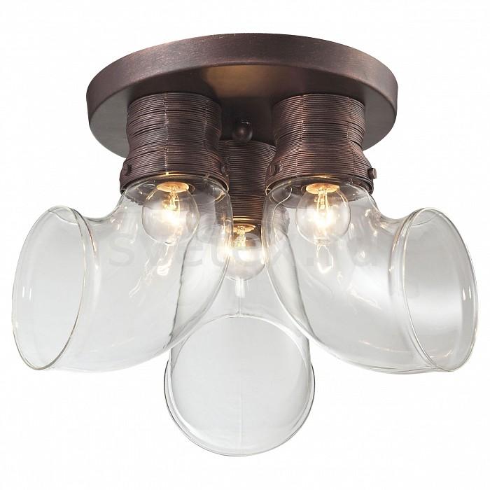 Потолочная люстра LussoleЛюстры<br>Артикул - LSP-9327,Бренд - Lussole (Италия),Коллекция - Loft,Гарантия, месяцы - 24,Время изготовления, дней - 1,Высота, мм - 250,Диаметр, мм - 370,Тип лампы - компактная люминесцентная [КЛЛ] ИЛИнакаливания ИЛИсветодиодная [LED],Общее кол-во ламп - 3,Напряжение питания лампы, В - 220,Максимальная мощность лампы, Вт - 40,Лампы в комплекте - отсутствуют,Цвет плафонов и подвесок - неокрашенный,Тип поверхности плафонов - прозрачный,Материал плафонов и подвесок - стекло,Цвет арматуры - коричневый,Тип поверхности арматуры - матовый,Материал арматуры - металл,Количество плафонов - 3,Возможность подлючения диммера - можно, если установить лампу накаливания,Форма и тип колбы - сферическая,Тип цоколя лампы - E14,Класс электробезопасности - I,Общая мощность, Вт - 120,Степень пылевлагозащиты, IP - 20,Диапазон рабочих температур - комнатная температура,Дополнительные параметры - стиль Кантри<br>