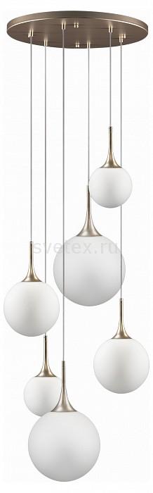 Подвесной светильник LightstarБарные<br>Артикул - LS_813063,Бренд - Lightstar (Италия),Коллекция - Globo,Гарантия, месяцы - 24,Высота, мм - 450-1200,Диаметр, мм - 500,Тип лампы - компактная люминесцентная [КЛЛ] ИЛИнакаливания ИЛИсветодиодная [LED],Общее кол-во ламп - 6,Напряжение питания лампы, В - 220,Максимальная мощность лампы, Вт - 40,Лампы в комплекте - отсутствуют,Цвет плафонов и подвесок - белый,Тип поверхности плафонов - матовый,Материал плафонов и подвесок - стекло,Цвет арматуры - золото шампань,Тип поверхности арматуры - матовый,Материал арматуры - металл,Количество плафонов - 6,Возможность подлючения диммера - можно, если установить лампу накаливания,Тип цоколя лампы - E14,Класс электробезопасности - I,Общая мощность, Вт - 240,Степень пылевлагозащиты, IP - 20,Диапазон рабочих температур - комнатная температура,Дополнительные параметры - способ крепления светильника к потолку - на монтажной пластине, регулируется по высоте<br>