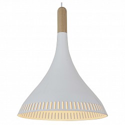 Подвесной светильник ST-LuceБарные<br>Артикул - SL710.503.01,Бренд - ST-Luce (Китай),Коллекция - SL710,Гарантия, месяцы - 24,Время изготовления, дней - 1,Высота, мм - 400-1100,Диаметр, мм - 300,Размер упаковки, мм - 365х365х470,Тип лампы - компактная люминесцентная [КЛЛ] ИЛИнакаливания ИЛИсветодиодная [LED],Общее кол-во ламп - 1,Напряжение питания лампы, В - 220,Максимальная мощность лампы, Вт - 60,Лампы в комплекте - отсутствуют,Цвет плафонов и подвесок - белый, сосна,Тип поверхности плафонов - матовый,Материал плафонов и подвесок - дерево, металл,Цвет арматуры - сосна,Тип поверхности арматуры - матовый,Материал арматуры - дерево,Возможность подлючения диммера - можно, если установить лампу накаливания,Тип цоколя лампы - E27,Класс электробезопасности - I,Степень пылевлагозащиты, IP - 20,Диапазон рабочих температур - комнатная температура,Дополнительные параметры - регулируется по высоте,  способ крепления светильника к потолку – на монтажной пластине,  стиль кантри<br>