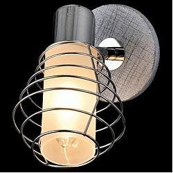 Спот EurosvetС 1 лампой<br>Артикул - EV_76517,Бренд - Eurosvet (Китай),Коллекция - Эфес,Гарантия, месяцы - 24,Тип лампы - компактная люминесцентная [КЛЛ] ИЛИнакаливания ИЛИсветодиодная [LED],Общее кол-во ламп - 1,Напряжение питания лампы, В - 220,Максимальная мощность лампы, Вт - 40,Лампы в комплекте - отсутствуют,Цвет плафонов и подвесок - белый, хром,Тип поверхности плафонов - глянцевый, матовый,Материал плафонов и подвесок - стекло,Цвет арматуры - серый, хром,Тип поверхности арматуры - глянцевый, матовый,Материал арматуры - дерево, металл,Возможность подлючения диммера - можно, если установить лампу накаливания,Тип цоколя лампы - E14,Класс электробезопасности - I,Степень пылевлагозащиты, IP - 20,Диапазон рабочих температур - комнатная температура,Дополнительные параметры - способ крепления светильника к потолку и стене - на монтажной пластине, поворотный светильник<br>