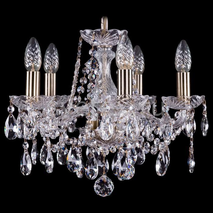 Фото Подвесная люстра Bohemia Ivele Crystal 1413 1413/5/141/Pa