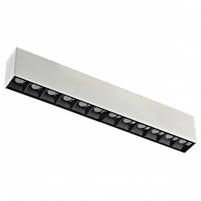Накладной светильник DonoluxШинные<br>Артикул - do_dl18781_12m_white,Бренд - Donolux (Китай),Коллекция - DL1878,Гарантия, месяцы - 24,Длина, мм - 323,Ширина, мм - 34,Выступ, мм - 56,Тип лампы - светодиодная [LED],Общее кол-во ламп - 1,Напряжение питания лампы, В - 24,Максимальная мощность лампы, Вт - 12,Цвет лампы - белый теплый,Лампы в комплекте - светодиодная [LED],Цвет арматуры - белый, черный,Тип поверхности арматуры - матовый,Материал арматуры - металл,Необходимые компоненты - возможность диммирования при помощи: контроллеров - LT-701-12A 0/1-10V ИЛИ DL18311/controller 12-36VDCблоков со встроенным диммером 1-10V — HF-100-24V IP67 ИЛИ HF-150-24V IP67 ИЛИ HF-250-24V IP67,Компоненты, входящие в комплект - нет,Цветовая температура, K - 3000 K,Световой поток, лм - 800,Экономичнее лампы накаливания - в 6 раз,Светоотдача, лм/Вт - 67,Класс электробезопасности - III,Степень пылевлагозащиты, IP - 20,Диапазон рабочих температур - комнатная температура,Индекс цветопередачи, % - 80,Дополнительные параметры - угол рассеивания: 23 °<br>