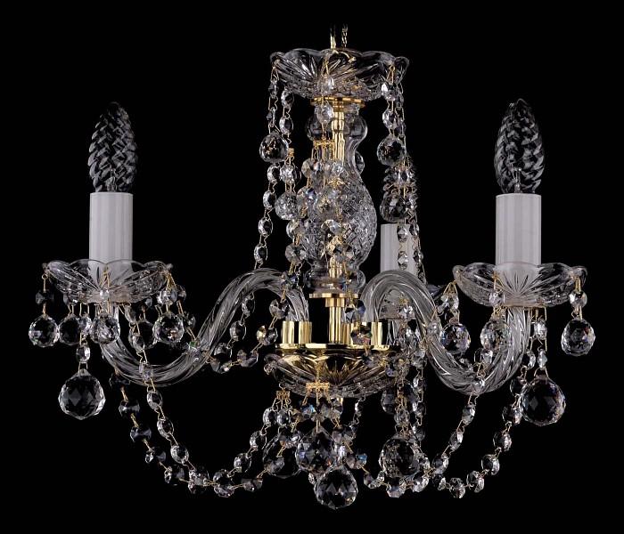 Фото Подвесная люстра Bohemia Ivele Crystal 1406 1406/3/141/G/Balls