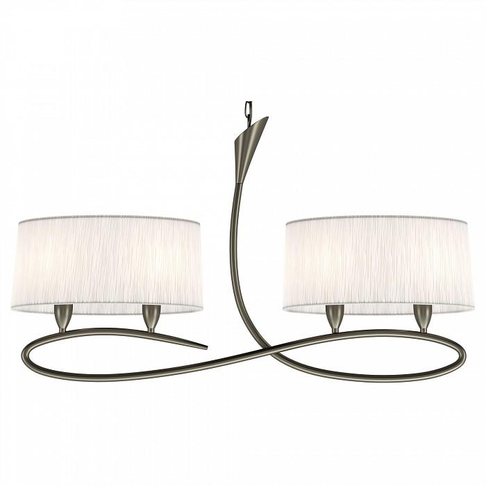Подвесной светильник MantraСветодиодные<br>Артикул - MN_3700,Бренд - Mantra (Испания),Коллекция - Lua,Гарантия, месяцы - 24,Время изготовления, дней - 1,Длина, мм - 957,Ширина, мм - 180,Высота, мм - 650-1650,Тип лампы - компактная люминесцентная [КЛЛ] ИЛИсветодиодная [LED],Общее кол-во ламп - 4,Напряжение питания лампы, В - 220,Максимальная мощность лампы, Вт - 13,Лампы в комплекте - отсутствуют,Цвет плафонов и подвесок - белый,Тип поверхности плафонов - матовый,Материал плафонов и подвесок - органза,Цвет арматуры - хром,Тип поверхности арматуры - глянцевый,Материал арматуры - металл,Количество плафонов - 2,Возможность подлючения диммера - нельзя,Тип цоколя лампы - E27,Класс электробезопасности - I,Общая мощность, Вт - 52,Степень пылевлагозащиты, IP - 20,Диапазон рабочих температур - комнатная температура<br>