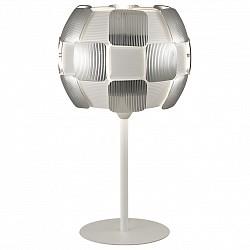 Настольная лампа декоративная Odeon LightПолимерные<br>Артикул - OD_2860_1T,Бренд - Odeon Light (Италия),Коллекция - Ralis,Гарантия, месяцы - 24,Высота, мм - 470,Диаметр, мм - 280,Тип лампы - компактная люминесцентная [КЛЛ] ИЛИсветодиодная [LED],Общее кол-во ламп - 1,Напряжение питания лампы, В - 220,Максимальная мощность лампы, Вт - 26,Лампы в комплекте - отсутствуют,Цвет плафонов и подвесок - белый, серый,Тип поверхности плафонов - матовый, рельефный,Материал плафонов и подвесок - полимер, стекло,Цвет арматуры - белый,Тип поверхности арматуры - матовый,Материал арматуры - металл,Тип цоколя лампы - E27,Класс электробезопасности - II,Степень пылевлагозащиты, IP - 20,Диапазон рабочих температур - комнатная температура<br>