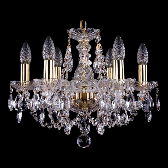 Фото Подвесная люстра Bohemia Ivele Crystal 1406 1406/6/141/G