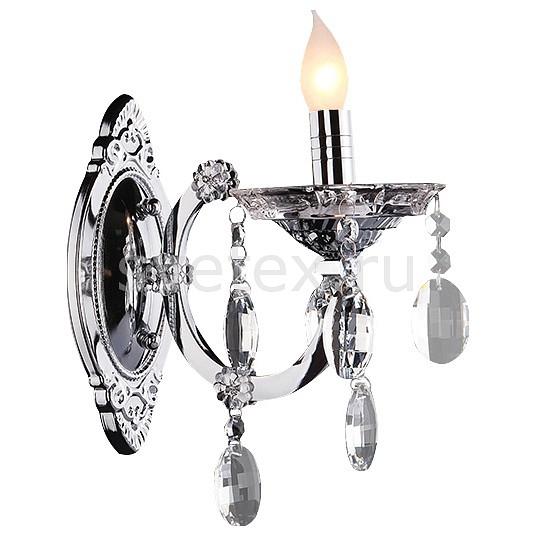 Бра EurosvetС 1 лампой<br>Артикул - EV_7699,Бренд - Eurosvet (Китай),Коллекция - 3449,Гарантия, месяцы - 24,Ширина, мм - 120,Высота, мм - 310,Выступ, мм - 200,Тип лампы - компактная люминесцентная [КЛЛ] ИЛИнакаливания ИЛИсветодиодная [LED],Общее кол-во ламп - 1,Напряжение питания лампы, В - 220,Максимальная мощность лампы, Вт - 60,Лампы в комплекте - отсутствуют,Цвет плафонов и подвесок - неокрашенный,Тип поверхности плафонов - прозрачный,Материал плафонов и подвесок - хрусталь Strotskis,Цвет арматуры - хром,Тип поверхности арматуры - матовый, рельефный,Материал арматуры - металл,Возможность подлючения диммера - можно, если установить лампу накаливания,Форма и тип колбы - свеча ИЛИ свеча на ветру,Тип цоколя лампы - E14,Класс электробезопасности - I,Степень пылевлагозащиты, IP - 20,Диапазон рабочих температур - комнатная температура,Дополнительные параметры - способ крепления светильника – на монтажной пластине, светильник предназначен для использования со скрытой проводкой<br>