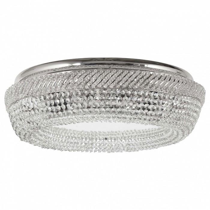 Потолочная люстра Dio D'ArteБолее 6 ламп<br>Артикул - DDA_Bari_E_1.4.60.300_N,Бренд - Dio D'Arte (Италия),Коллекция - Bari,Гарантия, месяцы - 24,Высота, мм - 150,Диаметр, мм - 600,Тип лампы - компактная люминесцентная [КЛЛ] ИЛИнакаливания ИЛИсветодиодная [LED],Общее кол-во ламп - 8,Напряжение питания лампы, В - 220,Максимальная мощность лампы, Вт - 60,Лампы в комплекте - отсутствуют,Цвет плафонов и подвесок - неокрашенный,Тип поверхности плафонов - прозрачный,Материал плафонов и подвесок - хрусталь Swarovski Spectra,Цвет арматуры - золото,Тип поверхности арматуры - глянцевый,Материал арматуры - металл,Возможность подлючения диммера - можно, если установить лампу накаливания,Тип цоколя лампы - E27,Класс электробезопасности - I,Общая мощность, Вт - 480,Степень пылевлагозащиты, IP - 20,Диапазон рабочих температур - комнатная температура,Дополнительные параметры - способ крепления светильника к потолку - на монтажной пластине<br>