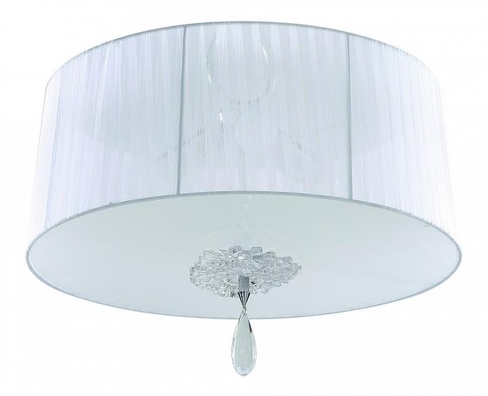 Накладной светильник MantraКруглые<br>Артикул - MN_5275,Бренд - Mantra (Испания),Коллекция - Louise,Гарантия, месяцы - 24,Высота, мм - 350,Диаметр, мм - 500,Тип лампы - компактная люминесцентная [КЛЛ] ИЛИсветодиодная [LED],Общее кол-во ламп - 3,Напряжение питания лампы, В - 220,Максимальная мощность лампы, Вт - 23,Лампы в комплекте - отсутствуют,Цвет плафонов и подвесок - белый, неокрашенный,Тип поверхности плафонов - матовый, прозрачный,Материал плафонов и подвесок - стекло, текстиль, хрусталь,Цвет арматуры - хром,Тип поверхности арматуры - глянцевый,Материал арматуры - металл,Количество плафонов - 1,Возможность подлючения диммера - можно, если установить лампу накаливания,Тип цоколя лампы - E27,Класс электробезопасности - I,Общая мощность, Вт - 69,Степень пылевлагозащиты, IP - 20,Диапазон рабочих температур - комнатная температура,Дополнительные параметры - способ крепления светильника к потолку - на монтажной пластине<br>