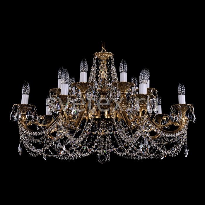 Фото Подвесная люстра Bohemia Ivele Crystal 1703 1703/14/C/G