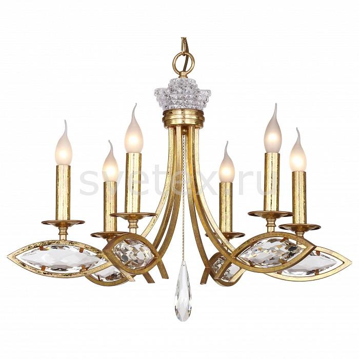 Подвесная люстра Favourite5 или 6 ламп<br>Артикул - FV_1927-6P,Бренд - Favourite (Германия),Коллекция - Tesoro,Гарантия, месяцы - 24,Высота, мм - 500-1540,Диаметр, мм - 680,Тип лампы - компактная люминесцентная [КЛЛ] ИЛИнакаливания ИЛИсветодиодная [LED],Общее кол-во ламп - 6,Напряжение питания лампы, В - 220,Максимальная мощность лампы, Вт - 40,Лампы в комплекте - отсутствуют,Цвет плафонов и подвесок - неокрашенный,Тип поверхности плафонов - прозрачный,Материал плафонов и подвесок - хрусталь,Цвет арматуры - золото,Тип поверхности арматуры - глянцевый,Материал арматуры - металл,Возможность подлючения диммера - можно, если установить лампу накаливания,Форма и тип колбы - свеча ИЛИ свеча на ветру,Тип цоколя лампы - E14,Класс электробезопасности - I,Общая мощность, Вт - 240,Степень пылевлагозащиты, IP - 20,Диапазон рабочих температур - комнатная температура,Дополнительные параметры - способ крепления светильника к потолку - на монтажной пластине, регулируется по высоте<br>