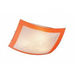Накладной светильник SonexКвадратные<br>Артикул - SN_3148,Бренд - Sonex (Россия),Коллекция - Sakura,Гарантия, месяцы - 24,Тип лампы - компактная люминесцентная [КЛЛ] ИЛИнакаливания ИЛИсветодиодная [LED],Общее кол-во ламп - 3,Напряжение питания лампы, В - 220,Максимальная мощность лампы, Вт - 100,Лампы в комплекте - отсутствуют,Цвет плафонов и подвесок - белый с рисунком и оранжевой каймой,Тип поверхности плафонов - матовый,Материал плафонов и подвесок - стекло,Цвет арматуры - хром,Тип поверхности арматуры - глянцевый,Материал арматуры - металл,Возможность подлючения диммера - можно, если установить лампу накаливания,Тип цоколя лампы - E27,Класс электробезопасности - I,Общая мощность, Вт - 300,Степень пылевлагозащиты, IP - 20,Диапазон рабочих температур - комнатная температура<br>