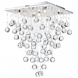Потолочная люстра Maytoni5 или 6 ламп<br>Артикул - MY_MOD217-40-N,Бренд - Maytoni (Германия),Коллекция - Modern 3,Гарантия, месяцы - 24,Высота, мм - 540,Размер упаковки, мм - 450x450x190,Тип лампы - галогеновая,Общее кол-во ламп - 5,Напряжение питания лампы, В - 220,Максимальная мощность лампы, Вт - 40,Лампы в комплекте - галогеновые G9,Цвет плафонов и подвесок - неокрашенный,Тип поверхности плафонов - прозрачный,Материал плафонов и подвесок - хрусталь,Цвет арматуры - хром,Тип поверхности арматуры - глянцевый,Материал арматуры - металл,Возможность подлючения диммера - можно,Форма и тип колбы - пальчиковая,Тип цоколя лампы - G9,Класс электробезопасности - I,Общая мощность, Вт - 200,Степень пылевлагозащиты, IP - 20,Диапазон рабочих температур - комнатная температура<br>