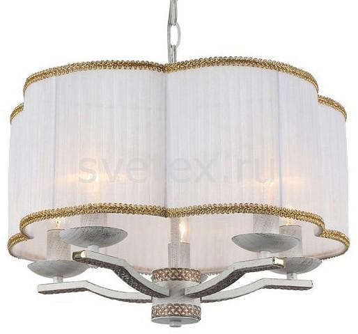 Подвесной светильник Arte LampСветодиодные<br>Артикул - AR_A6555SP-5WG,Бренд - Arte Lamp (Италия),Коллекция - Granny,Гарантия, месяцы - 24,Высота, мм - 280-680,Диаметр, мм - 450,Тип лампы - компактная люминесцентная [КЛЛ] ИЛИнакаливания ИЛИсветодиодная [LED],Общее кол-во ламп - 5,Напряжение питания лампы, В - 220,Максимальная мощность лампы, Вт - 40,Лампы в комплекте - отсутствуют,Цвет плафонов и подвесок - белый с каймой,Тип поверхности плафонов - матовый,Материал плафонов и подвесок - текстиль,Цвет арматуры - белый с золотом,Тип поверхности арматуры - матовый,Материал арматуры - металл,Количество плафонов - 1,Возможность подлючения диммера - можно, если установить лампу накаливания,Тип цоколя лампы - E14,Класс электробезопасности - I,Общая мощность, Вт - 200,Степень пылевлагозащиты, IP - 20,Диапазон рабочих температур - комнатная температура,Дополнительные параметры - способ крепления светильника к потолку - на монтажной пластине, регулируется по высоте<br>