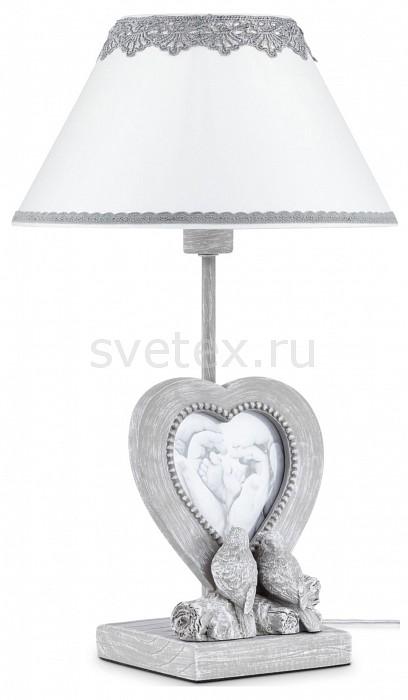Настольная лампа MaytoniС абажуром<br>Артикул - MY_ARM023-11-S,Бренд - Maytoni (Германия),Коллекция - Bouquet,Гарантия, месяцы - 24,Высота, мм - 420,Диаметр, мм - 250,Тип лампы - компактная люминесцентная [КЛЛ] ИЛИнакаливания ИЛИсветодиодная [LED],Общее кол-во ламп - 1,Напряжение питания лампы, В - 220,Максимальная мощность лампы, Вт - 40,Лампы в комплекте - отсутствуют,Цвет плафонов и подвесок - белый с серым кружевом,Тип поверхности плафонов - матовый,Материал плафонов и подвесок - кружева, ПВХ, текстиль,Цвет арматуры - серый античный,Тип поверхности арматуры - матовый,Материал арматуры - металл,Количество плафонов - 1,Наличие выключателя, диммера или пульта ДУ - выключатель на проводе,Компоненты, входящие в комплект - провод электропитания с вилкой без заземления, фоторамка,Тип цоколя лампы - E14,Класс электробезопасности - II,Степень пылевлагозащиты, IP - 20,Диапазон рабочих температур - комнатная температура<br>