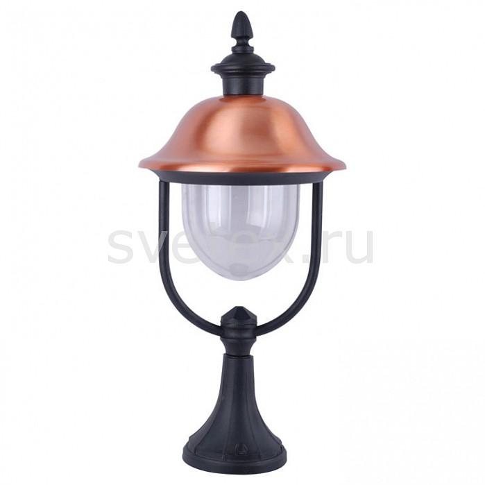 Фото Наземный низкий светильник Arte Lamp Barcelona A1484FN-1BK
