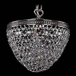 Подвесной светильник Bohemia Ivele CrystalБез плафонов<br>Артикул - BI_1932_20_NB,Бренд - Bohemia Ivele Crystal (Чехия),Коллекция - 1932,Гарантия, месяцы - 12,Высота, мм - 200,Диаметр, мм - 200,Размер упаковки, мм - 270x270x300,Тип лампы - компактная люминесцентная [КЛЛ] ИЛИнакаливания ИЛИсветодиодная [LED],Общее кол-во ламп - 1,Напряжение питания лампы, В - 220,Максимальная мощность лампы, Вт - 60,Лампы в комплекте - отсутствуют,Цвет плафонов и подвесок - неокрашенный,Тип поверхности плафонов - прозрачный,Материал плафонов и подвесок - хрусталь,Цвет арматуры - никель черненый,Тип поверхности арматуры - глянцевый, рельефный,Материал арматуры - металл,Возможность подлючения диммера - можно, если установить лампу накаливания,Тип цоколя лампы - E27,Класс электробезопасности - I,Степень пылевлагозащиты, IP - 20,Диапазон рабочих температур - комнатная температура,Дополнительные параметры - способ крепления светильника к потолку – на крюке<br>