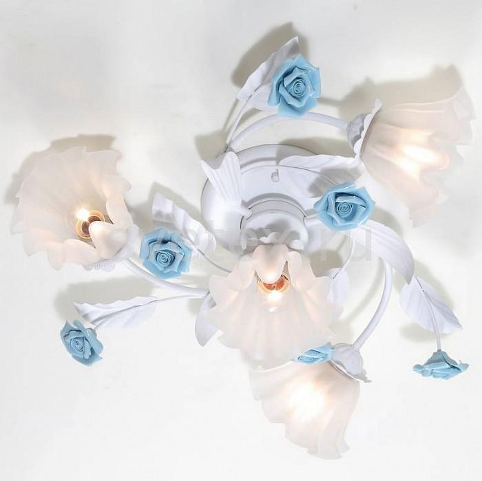 Потолочная люстра Lucia TucciЛюстры<br>Артикул - LT_Fiori_di_rose_112.3.1,Бренд - Lucia Tucci (Италия),Коллекция - Fiori di rose,Гарантия, месяцы - 24,Время изготовления, дней - 1,Высота, мм - 230,Диаметр, мм - 300,Тип лампы - компактная люминесцентная [КЛЛ] ИЛИнакаливания ИЛИсветодиодная [LED],Общее кол-во ламп - 4,Напряжение питания лампы, В - 220,Максимальная мощность лампы, Вт - 60,Лампы в комплекте - отсутствуют,Цвет плафонов и подвесок - белый,Тип поверхности плафонов - матовый,Материал плафонов и подвесок - стекло,Цвет арматуры - белый, голубой,Тип поверхности арматуры - матовый,Материал арматуры - керамика, металл,Количество плафонов - 4,Возможность подлючения диммера - можно, если установить лампу накаливания,Тип цоколя лампы - E27,Класс электробезопасности - I,Общая мощность, Вт - 240,Степень пылевлагозащиты, IP - 20,Диапазон рабочих температур - комнатная температура,Дополнительные параметры - способ крепления светильника к потолку – на монтажной пластине<br>