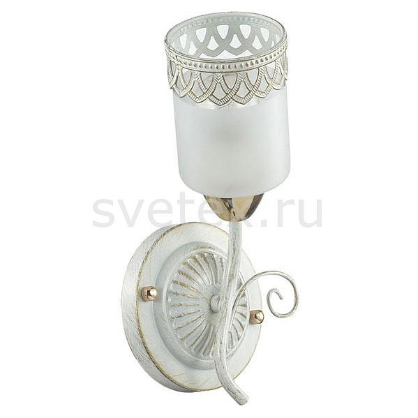 Бра LumionНастенные светильники<br>Артикул - LMN_3237_1W,Бренд - Lumion (Италия),Коллекция - Gaetta,Гарантия, месяцы - 24,Ширина, мм - 130,Высота, мм - 270,Выступ, мм - 150,Размер упаковки, мм - 180x200x200,Тип лампы - компактная люминесцентная [КЛЛ] ИЛИнакаливания ИЛИсветодиодная [LED],Общее кол-во ламп - 1,Напряжение питания лампы, В - 220,Максимальная мощность лампы, Вт - 60,Лампы в комплекте - отсутствуют,Цвет плафонов и подвесок - белый с золотым орнаментом,Тип поверхности плафонов - матовый,Материал плафонов и подвесок - стекло,Цвет арматуры - белый с золотой патиной,Тип поверхности арматуры - матовый,Материал арматуры - металл,Количество плафонов - 1,Возможность подлючения диммера - можно, если установить лампу накаливания,Тип цоколя лампы - E14,Класс электробезопасности - I,Степень пылевлагозащиты, IP - 20,Диапазон рабочих температур - комнатная температура,Дополнительные параметры - способ крепления светильника на стене – на монтажной пластине, светильник предназначен для использования со скрытой проводкой<br>