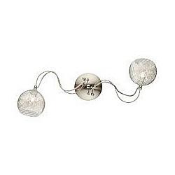 Бра Odeon LightБолее 1 лампы<br>Артикул - OD_2569_2W,Бренд - Odeon Light (Италия),Коллекция - Stray,Гарантия, месяцы - 24,Время изготовления, дней - 1,Высота, мм - 230,Тип лампы - галогеновая,Общее кол-во ламп - 2,Напряжение питания лампы, В - 220,Максимальная мощность лампы, Вт - 40,Лампы в комплекте - галогеновые G9,Цвет плафонов и подвесок - неокрашенный,Тип поверхности плафонов - прозрачный, рельефный,Материал плафонов и подвесок - стекло,Цвет арматуры - никель,Тип поверхности арматуры - глянцевый,Материал арматуры - металл,Возможность подлючения диммера - можно,Форма и тип колбы - пальчиковая,Тип цоколя лампы - G9,Класс электробезопасности - I,Общая мощность, Вт - 90,Степень пылевлагозащиты, IP - 20,Диапазон рабочих температур - комнатная температура,Дополнительные параметры - светильник предназначен для использования со скрытой проводкой<br>