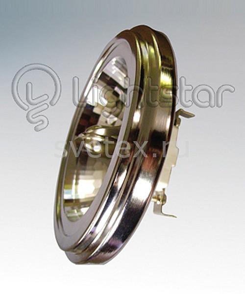 Лампа галогеновая G53 12V 50W 3000K 921032Галогенные<br>Артикул - LS_921032,Бренд - Lightstar (Италия),Высота, мм - 62,Диаметр, мм - 111,Тип лампы - галогеновая,Напряжение питания лампы, В - 12,Максимальная мощность лампы, Вт - 50,Форма и тип колбы - круглая плоская с рефлектором,Тип цоколя лампы - G53,Цветовая температура, K - 3000 K,Световой поток, лм - 850,Экономичнее лампы накаливания - на 20%,Сила света, кд - 950,Светоотдача, лм/Вт - 1,Угол падения света, град - 45,Ресурс лампы - 2 тыс. часов,Дополнительные параметры - низковольтная галогеновая плоская дисковая лампа DR111<br>