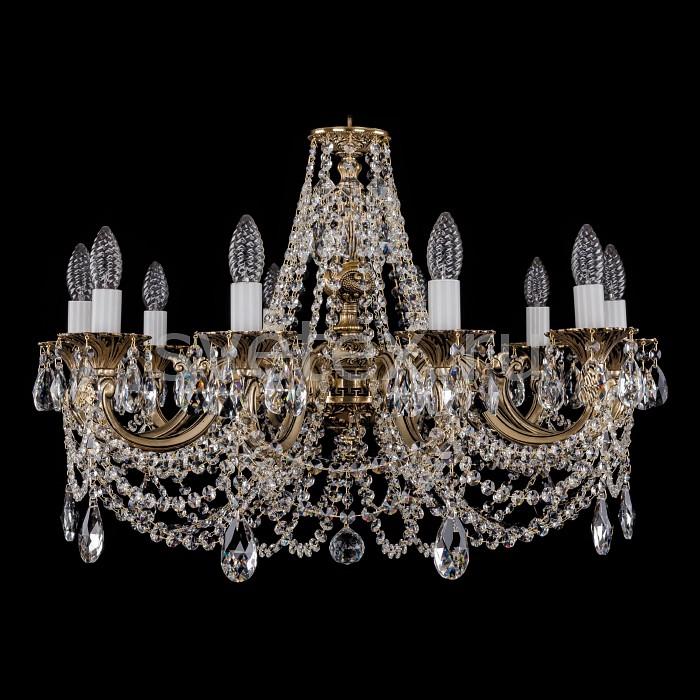 Фото Подвесная люстра Bohemia Ivele Crystal 1702 1702/10/C/GB