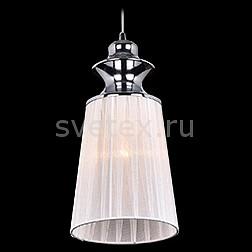 Подвесной светильник EurosvetСветодиодные<br>Артикул - EV_76535,Бренд - Eurosvet (Китай),Коллекция - 5001,Гарантия, месяцы - 24,Высота, мм - 1000,Диаметр, мм - 140,Тип лампы - компактная люминесцентная [КЛЛ] ИЛИнакаливания ИЛИсветодиодная [LED],Общее кол-во ламп - 1,Напряжение питания лампы, В - 220,Максимальная мощность лампы, Вт - 60,Лампы в комплекте - отсутствуют,Цвет плафонов и подвесок - белый,Тип поверхности плафонов - матовый,Материал плафонов и подвесок - текстиль,Цвет арматуры - хром,Тип поверхности арматуры - глянцевый,Материал арматуры - металл,Количество плафонов - 1,Возможность подлючения диммера - можно, если установить лампу накаливания,Тип цоколя лампы - E27,Класс электробезопасности - I,Степень пылевлагозащиты, IP - 20,Диапазон рабочих температур - комнатная температура,Дополнительные параметры - способ крепления светильника к потолку - на монтажной пластине, регулируется по высоте<br>